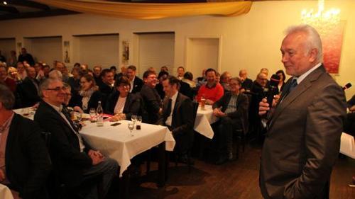 Wolfgang Kubicki war zu Gast beim Dreikönigstreffen der FDP Ganderkesee.